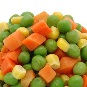 1052 Mixed Diced Frozen Vege 2kg