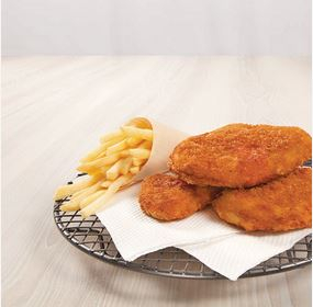 5563200 INGHAM SOUTHERN STYLE CHICKEN BREAST FILLET 110GM KG