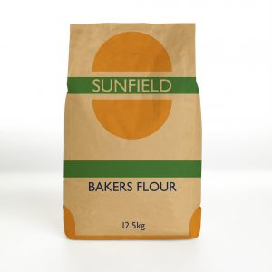 72519 Sunfield Bakers Flour Bag 12.5kg