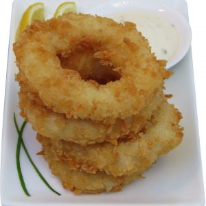 ATCRS7 Panko Crumbed Squid Rings 4kg